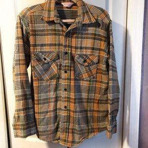 VTG Frostproof plaid men's 60s made in USA shirt
